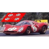 Ferrari 330 P4 - Le Mans 1967 nº21