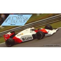 McLaren MP4/2C NSR Formula Slot - British GP 1986 nº1