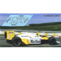 McLaren MP4/2C NSR Formula Slot - Portuguese GP 1986 nº2
