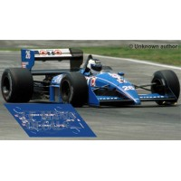 Ligier JS31 NSR Formula Slot - Belgium GP 1988 nº25