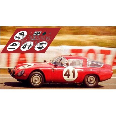 Alfa Romeo TZ - Le Mans 1964 40