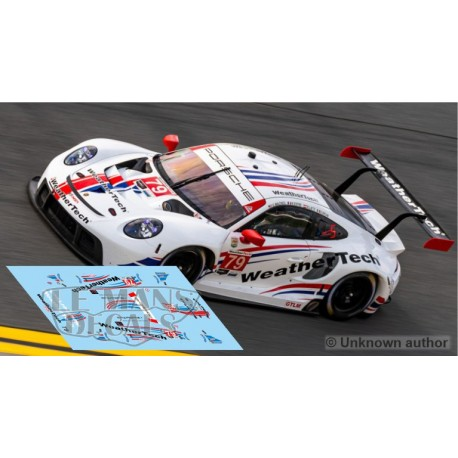 Porsche 991 RSR - Daytona 2021 nº79