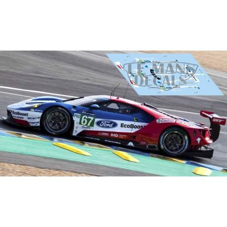 Ford GT GTE - Le Mans 2017 nº67