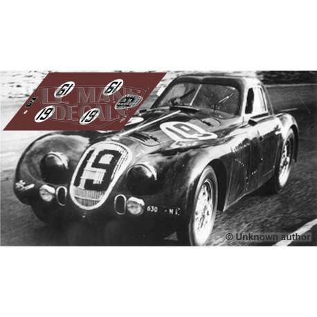 Alfa Romeo 8C Touring - Le Mans 1938 nº19