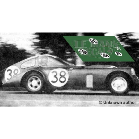 Bristol 450 - Le Mans 1953 nº38