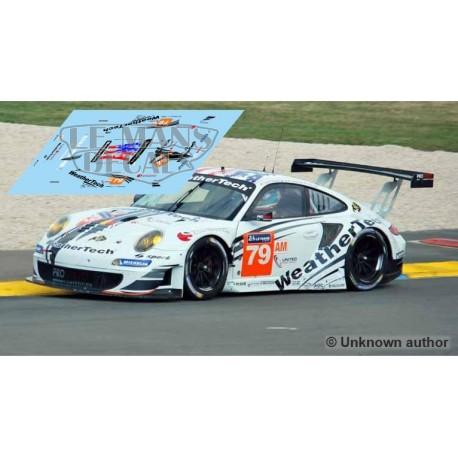 Porsche 997 GT3 RSR - Le Mans 2014 Test nº79