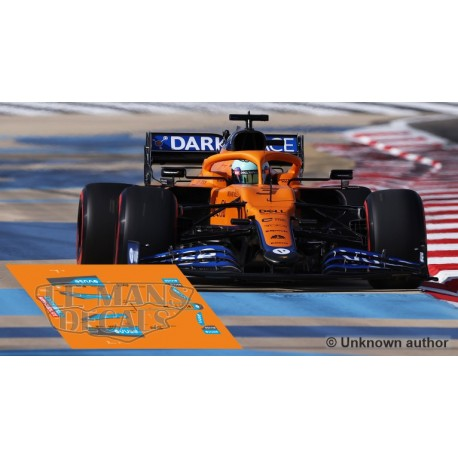McLaren MCL35M Policar Slot - Bahrain GP 2021 nº3