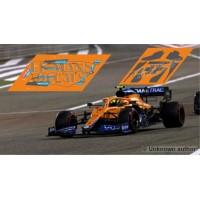 McLaren MCL35M Policar Slot - GP Bahrein 2021 nº4 + CARBON