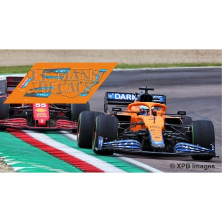 McLaren MCL35M Policar Slot - GP Emilia Romagna 2021 nº3