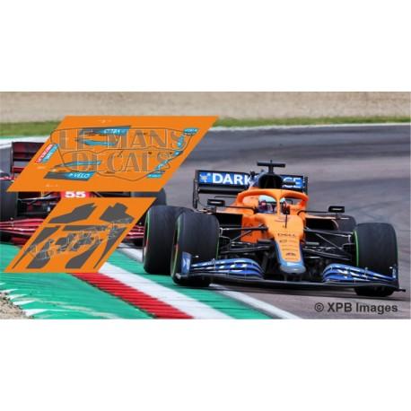 McLaren MCL35M Policar Slot - Emilia Romagna GP 2021 nº3 + CARBON