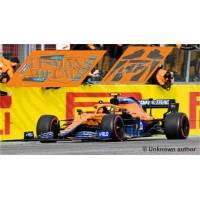 McLaren MCL35M Policar Slot - GP Emilia Romagna 2021 nº4 + CARBON
