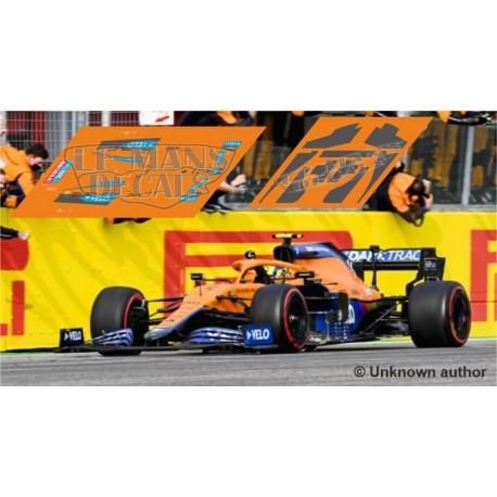 McLaren MCL35M Policar Slot - Emilia Romagna GP 2021 nº4 + CARBON