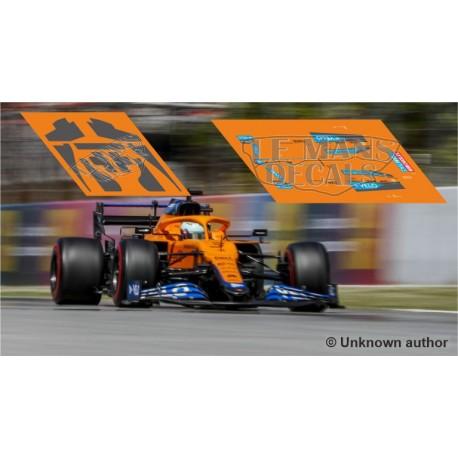 McLaren MCL35M Policar Slot - Spanish GP 2021 nº3 + CARBON