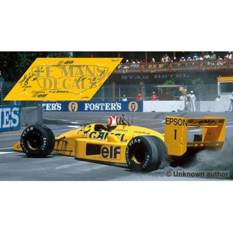 Lotus 100T  - GP Monaco 1988 nº1