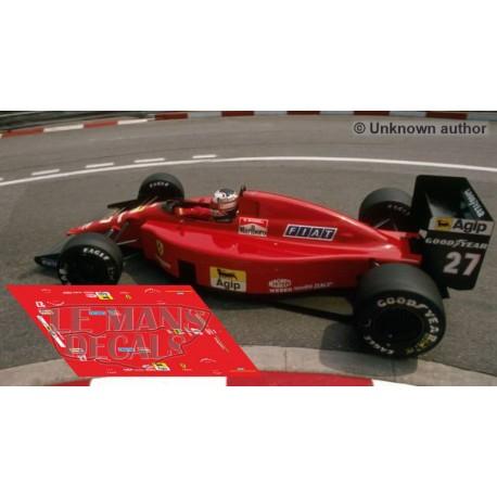 Ferrari 640 NSR Formula Slot - GP Monaco 1989 nº27