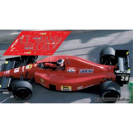 Ferrari 640 NSR Formula Slot - GP Monaco 1989 nº28