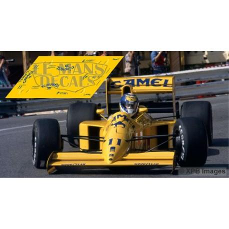 Lotus 102 - GP Monaco 1990 nº11