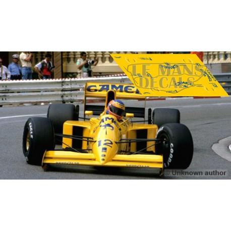 Lotus 102 - GP Monaco 1990 nº12