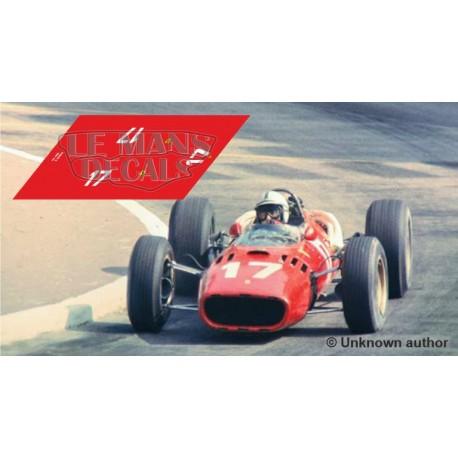Ferrari 312 F1 - Monaco GP 1966 nº17