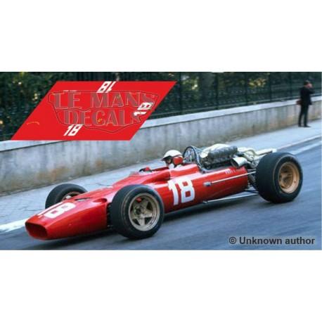 Ferrari 312 F1 - Monaco GP 1967 nº18