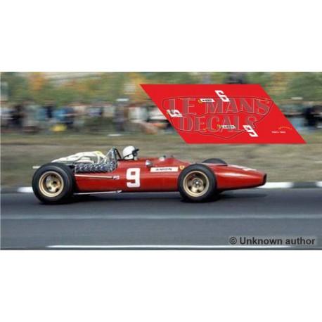 Ferrari 312 F1 - USA GP 1967 nº9