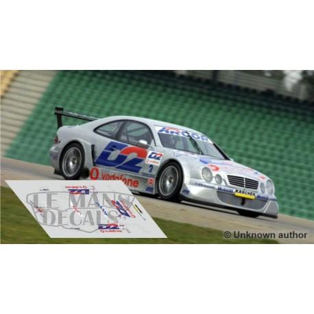 Mercedes CLK DTM - Season 2001 nº2