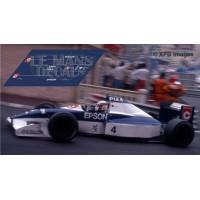 Tyrrell 019  - Monaco GP 1990 nº4