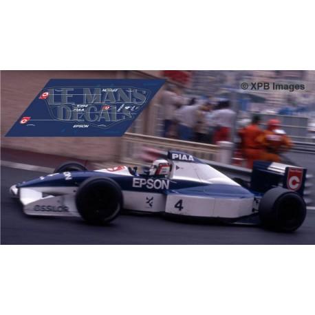Tyrrell 019  - GP Monaco 1990 nº4