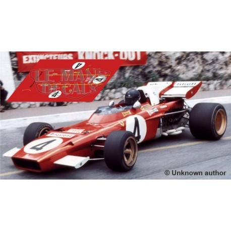 Ferrari 312 B - Monaco GP 1971 nº4