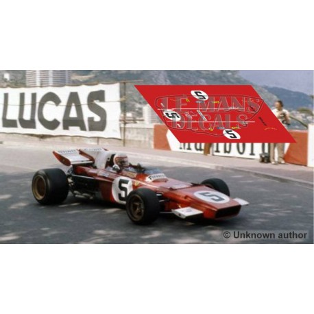 Ferrari 312 B - Monaco GP 1971 nº5