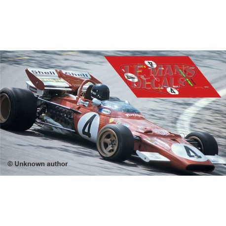 Ferrari 312 B - Spanish GP 1971 nº4