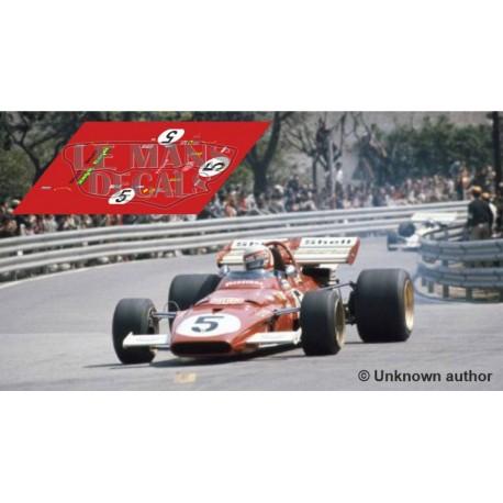 Ferrari 312 B - Spanish GP 1971 nº5