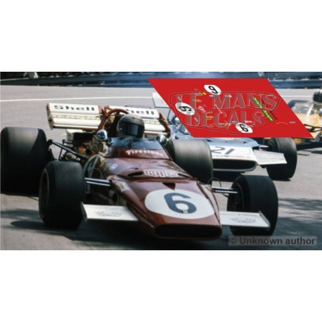Ferrari 312 B - Spanish GP 1971 nº6