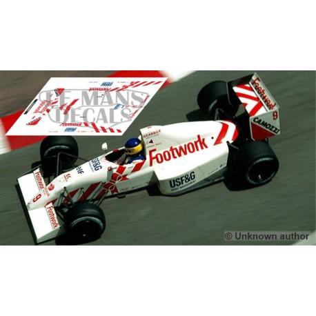 Arrows A11 NSR Formula Slot - Monaco GP 1990 nº9