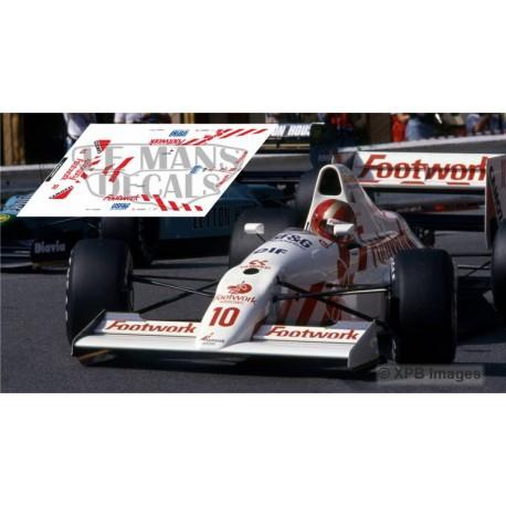 Arrows A11 NSR Formula Slot - Monaco GP 1990 nº10