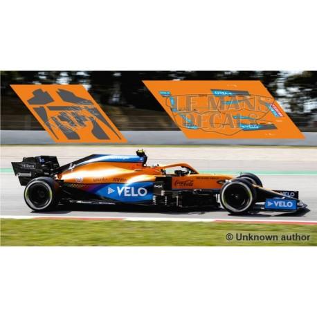 McLaren MCL35M Policar Slot - Spanish GP 2021 nº4 + CARBON