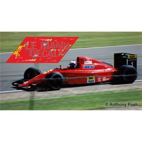Ferrari 641.2 Scaleauto Slot - British GP 1990 nº1