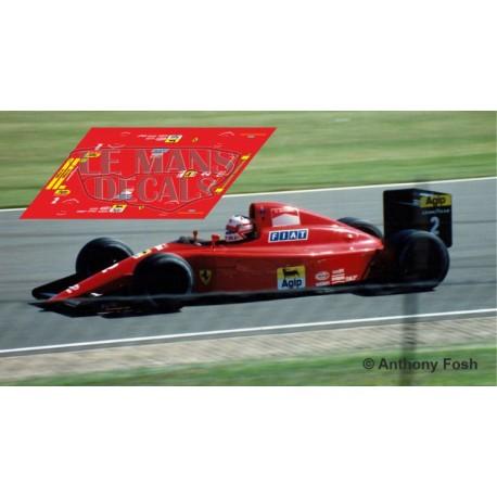 Ferrari 641.2 Scaleauto Slot - British GP 1990 nº2