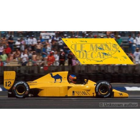 Lotus 102 Scaleauto Slot - British GP 1990 nº12