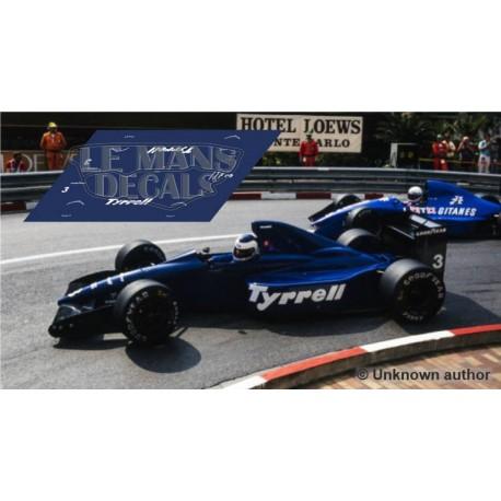 Tyrrell 018 Scaleauto Slot - GP Monaco 1989 nº3
