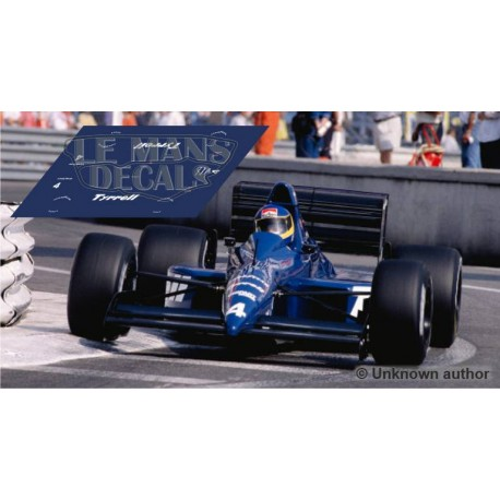 Tyrrell 018 Scaleauto Slot - Monaco GP 1989 nº4