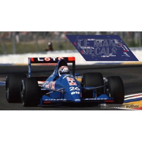 Ligier JS33 Scaleauto Slot - French GP 1990 nº26