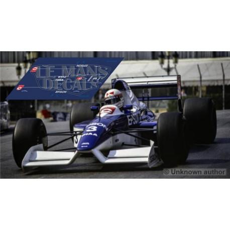 Tyrrell 019 Scaleauto Slot - GP Monaco 1990 nº3
