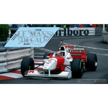 McLaren MP4/11 Scaleauto Slot - GP Monaco 1996 nº8