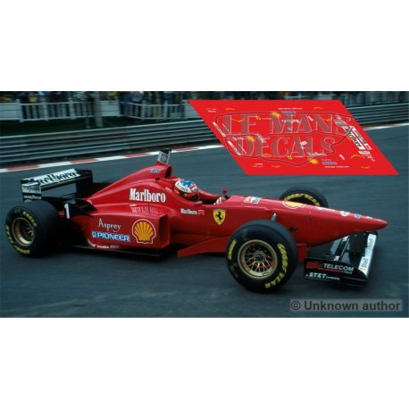 Ferrari F310 Scaleauto Slot - Belgian GP 1996 nº1