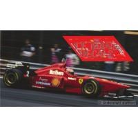 Ferrari F310 Scaleauto Slot - Belgian GP 1996 nº2