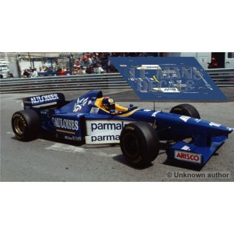 Ligier JS43 Scaleauto Slot - GP Monaco 1996 nº10