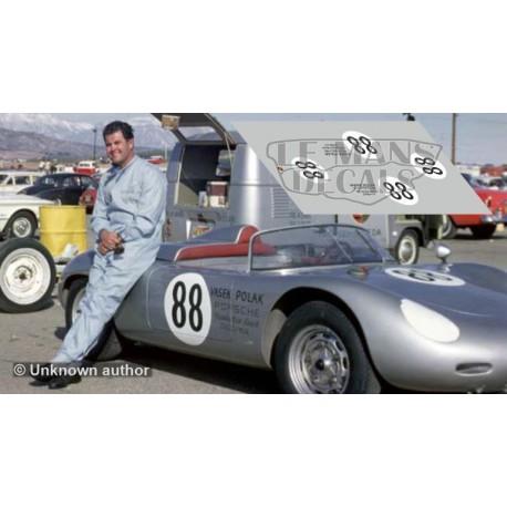 Porsche 718 RSK - Riverside 1962 nº88