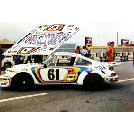Porsche 911 Carrera RSR - Le Mans 1974 nº61