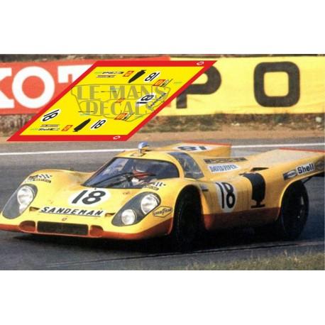 Porsche 917 k - Le Mans 1970 nº18